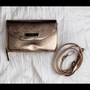 Rose Gold Double Sided Crossbody